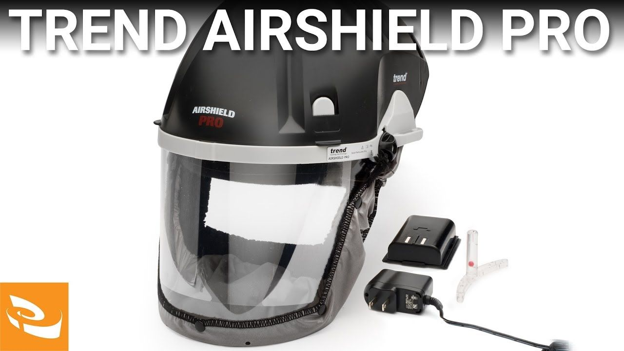 Trend Airshield Pro (Face Shield and Air Filtration System