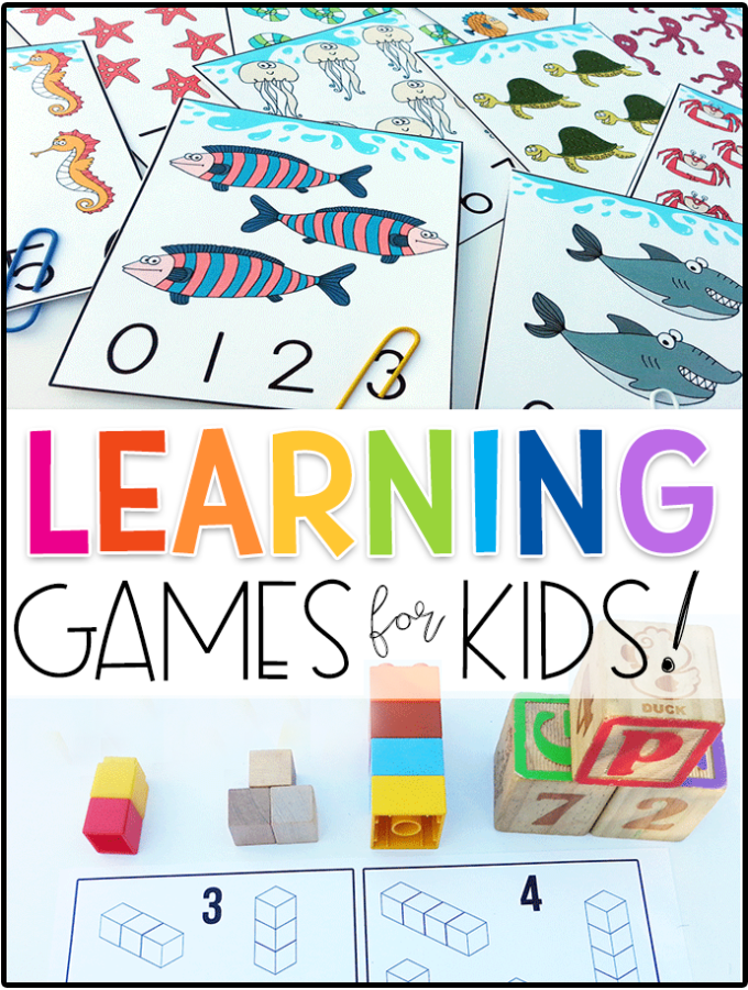 100+ FREE Learning Games for Kids Learning games for