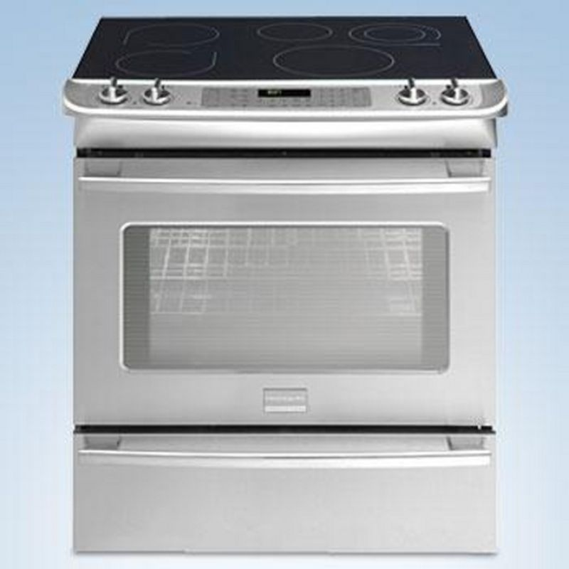 Frigidaire® Professional 30'' Slide-In Convection Range, Stainless ...