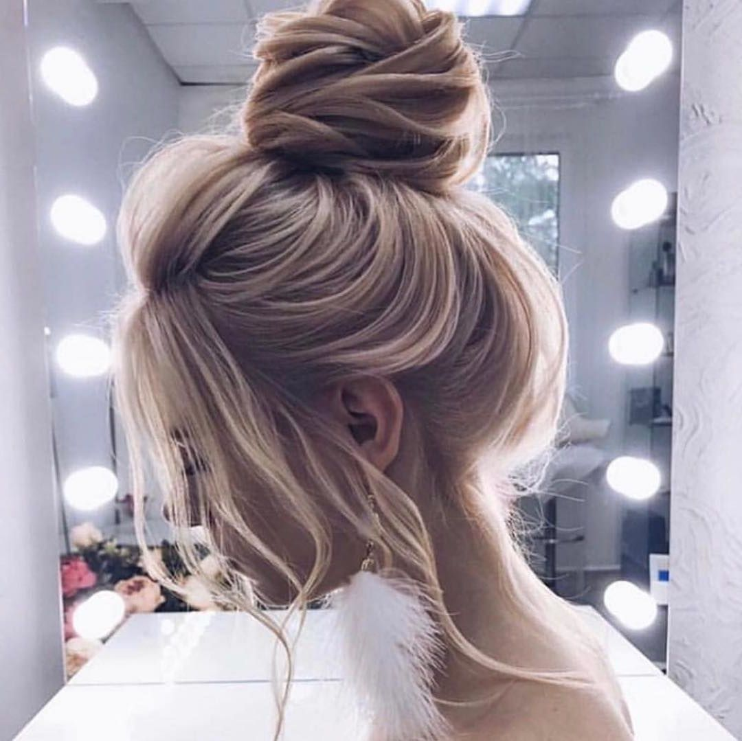 20 Casual Updos For Long Hair Tutorials Casual Updos For Long Hair Hair Styles Long Hair Styles