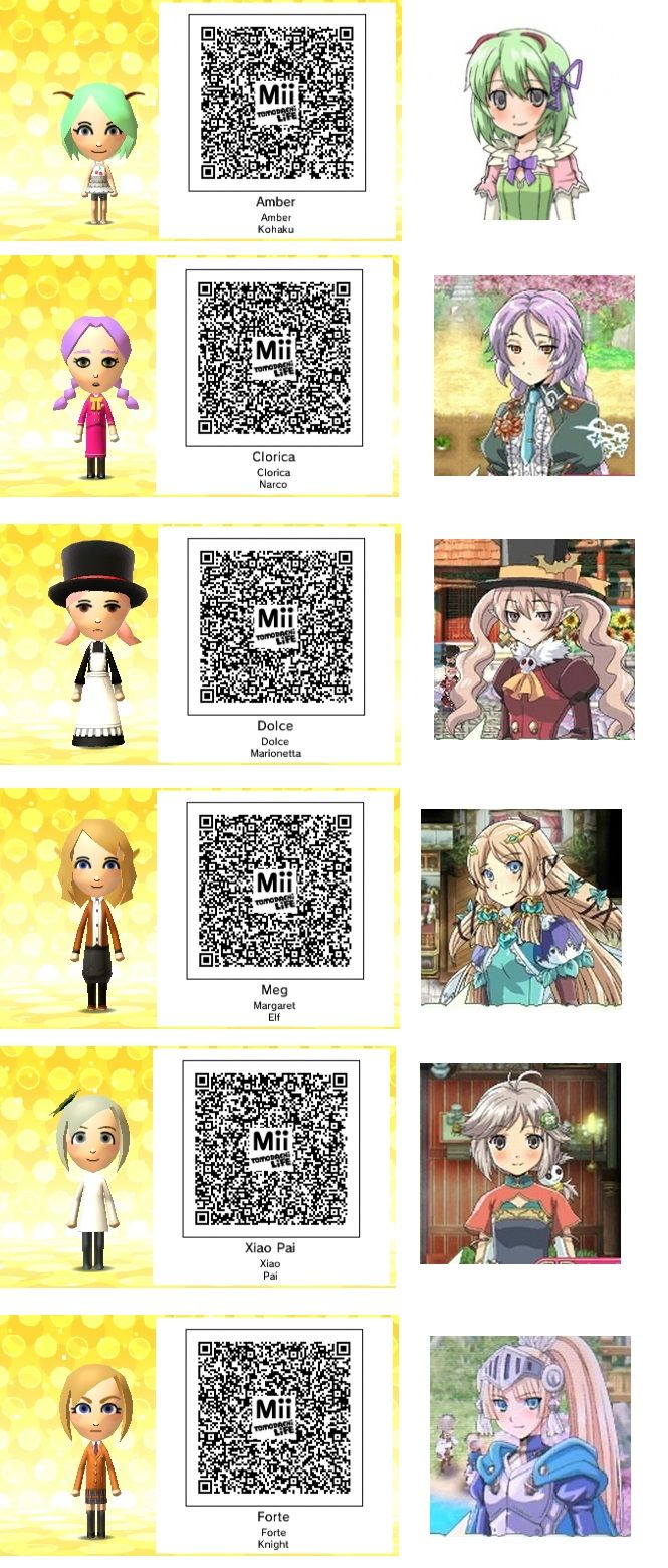 Tomodachi 3ds Qr Codes Kawaii Google Search Coding Qr Code 3ds