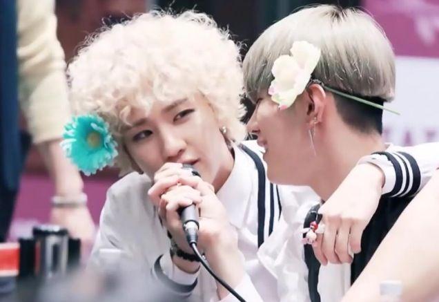 Flowers #hanjoo #hansol #bjoo #toppdogg