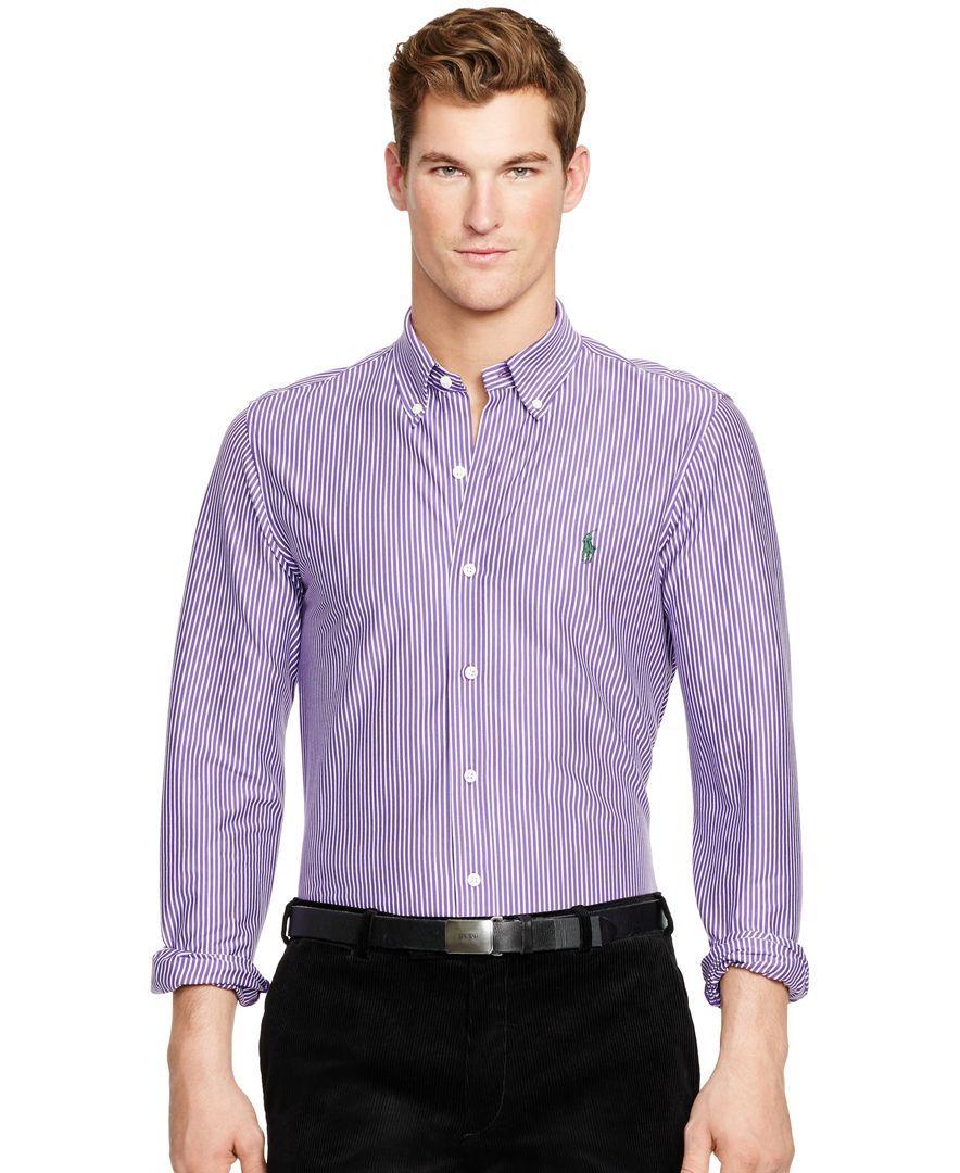 Polo Ralph Lauren Striped Knit Dress Shirt