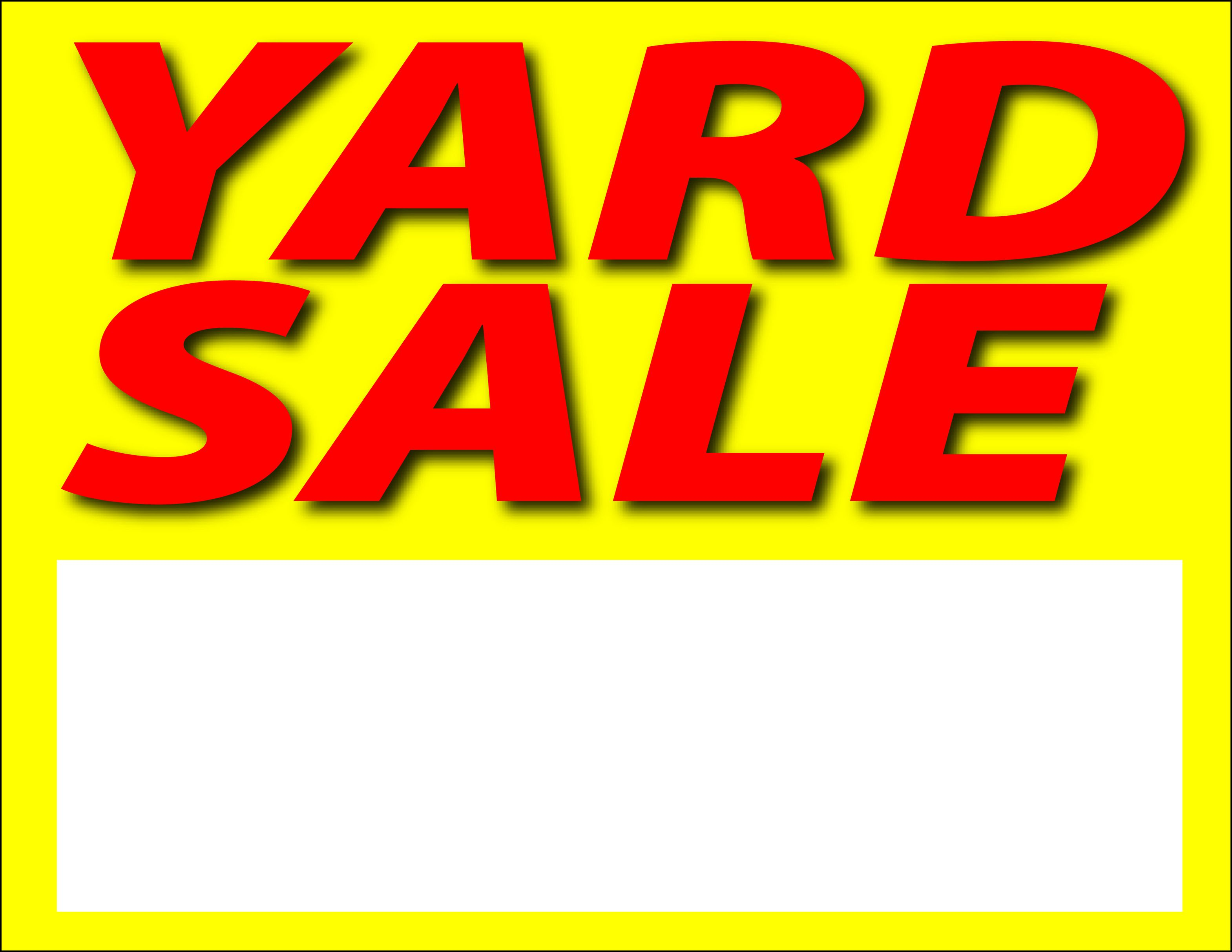 photo regarding Printable Garage Sale Signs titled Pictures for printable garden sale signal clipart free of charge in the direction of hire clip