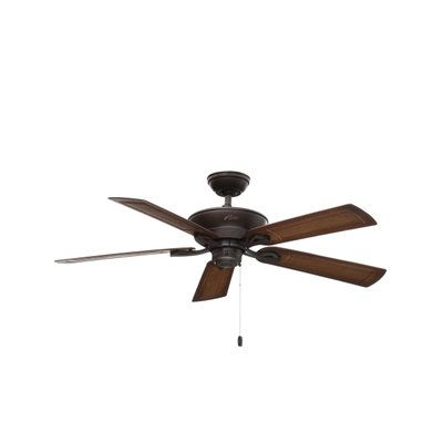 Hunter Caicos 52 In Indoor Outdoor New Bronze Wet Rated Ceiling Fan 53212 The Home Depot Wet Rated Ceiling Fans Ceiling Fan Exterior Ceiling Fans