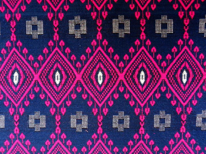 Upholstery Fabric Woven Fabric Yarn Dyed Tribal Home Decorating ...
