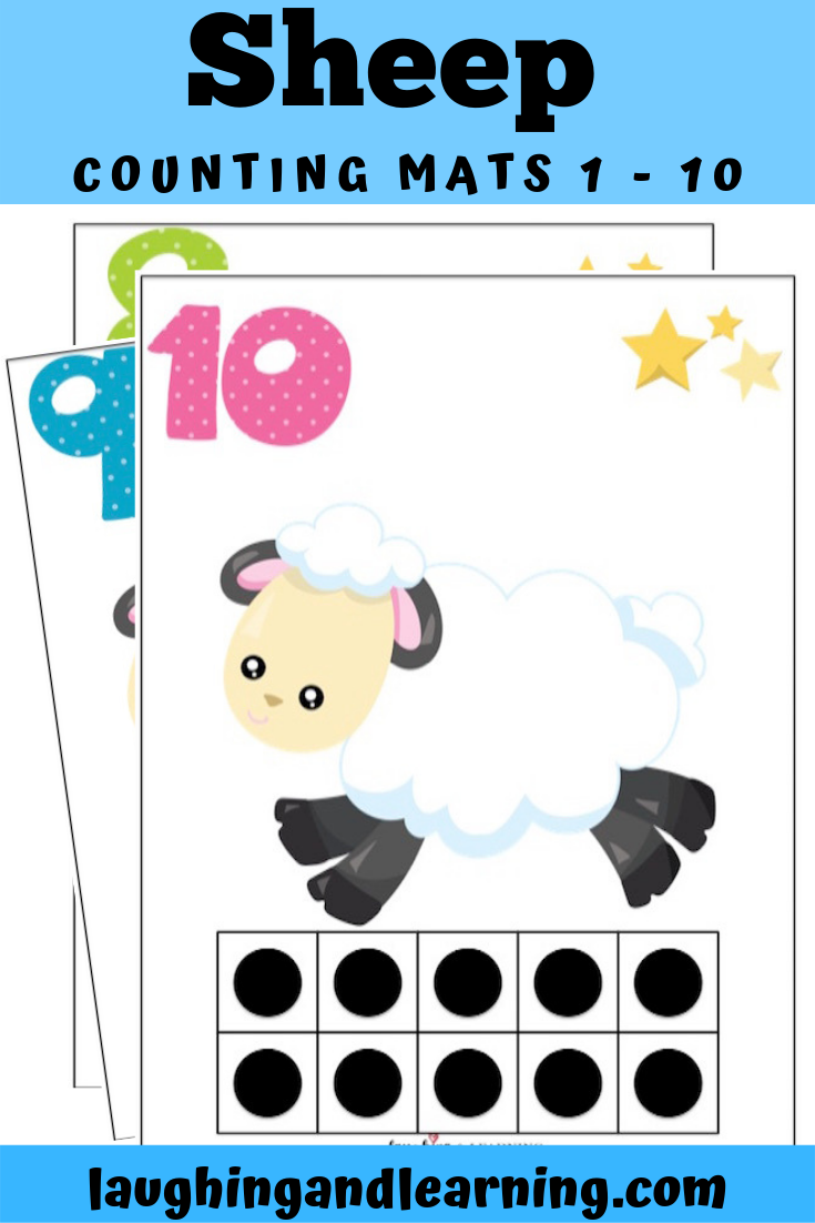 Printable Activities For Kids Counting Mats Are Hands On Fun And A Great Way To Preschool Activities Printable Activities For Kids Kindergarten Activities [ 1102 x 735 Pixel ]
