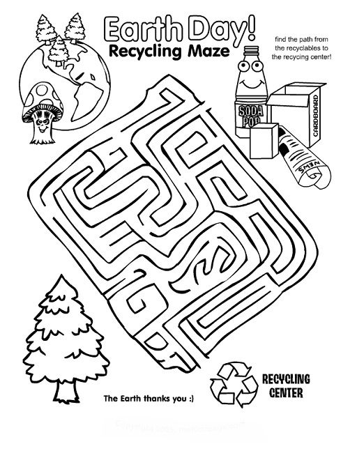 earth day puzzles coloring pages games earth day worksheets earth day earth day activities. Black Bedroom Furniture Sets. Home Design Ideas