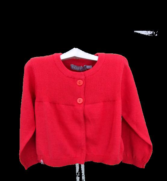 4f2b624d1 Red cardigan - cardigan or coat - babymaC - Stylish Spanish baby ...