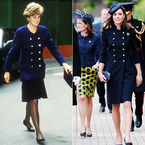 26 Time Princess Diana And Kate Middleton Were Style Twins Lady Diana Lady Princess Diana