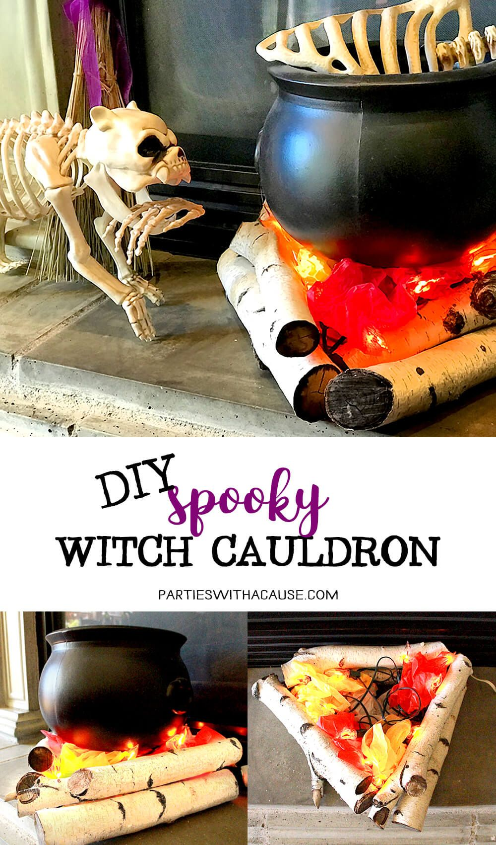 Eerie Witches' Cauldron Creation Witch diy, Witches