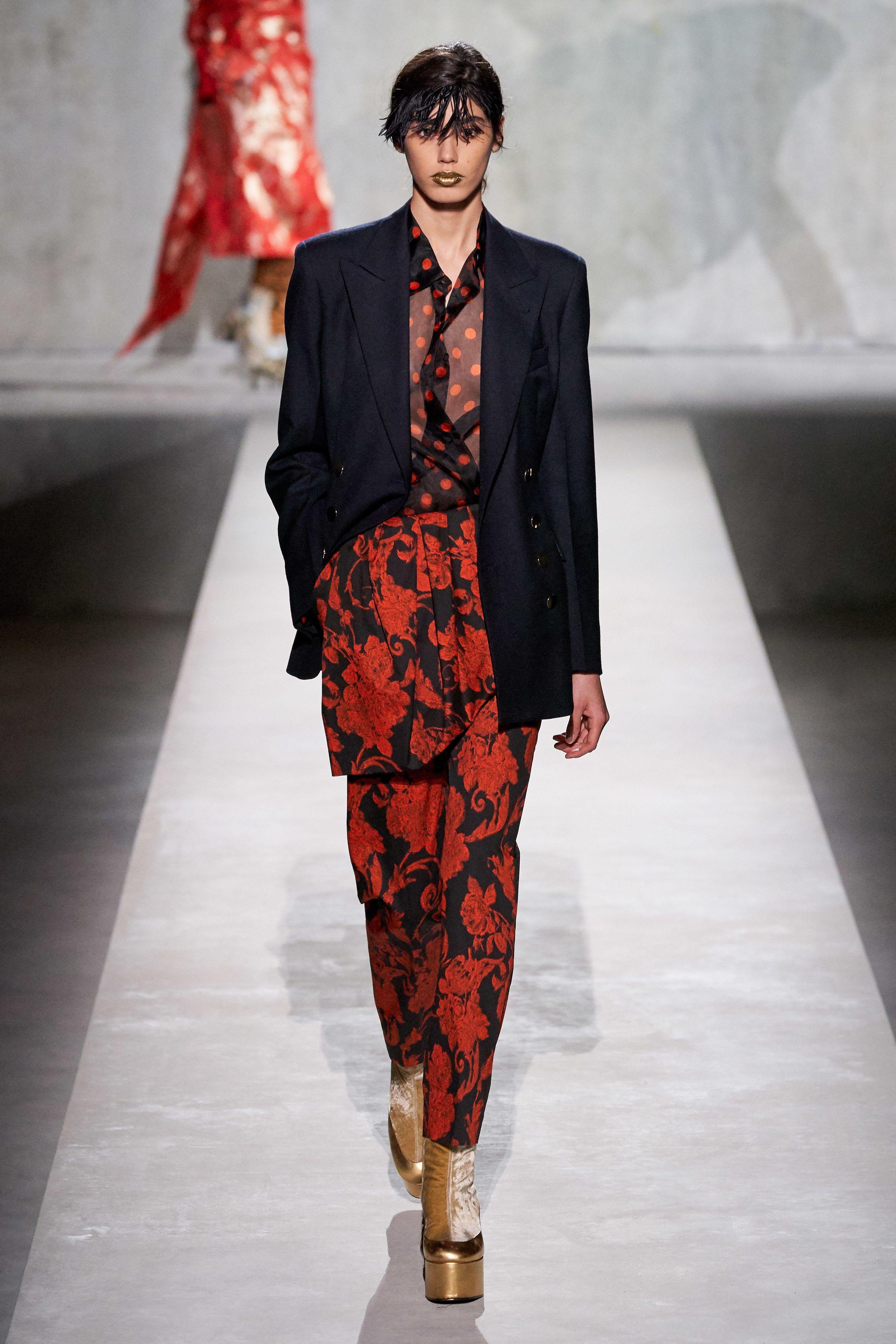 Dries Van Noten Spring 2020 Ready to Wear Fashion Show i 2020