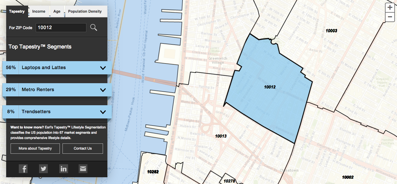 Find Out What Your ZIP Code Predicts