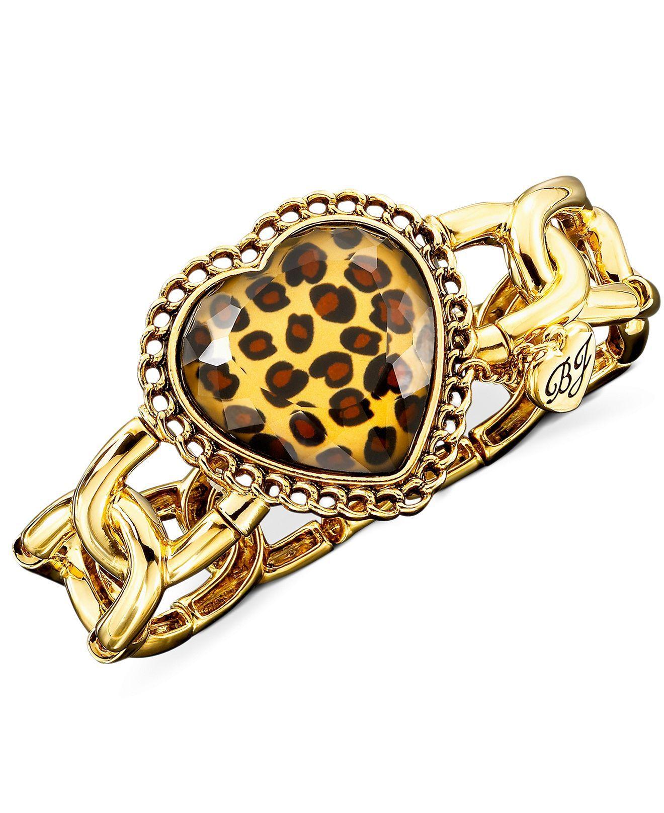 Betsey Johnson Leopard Bracelet