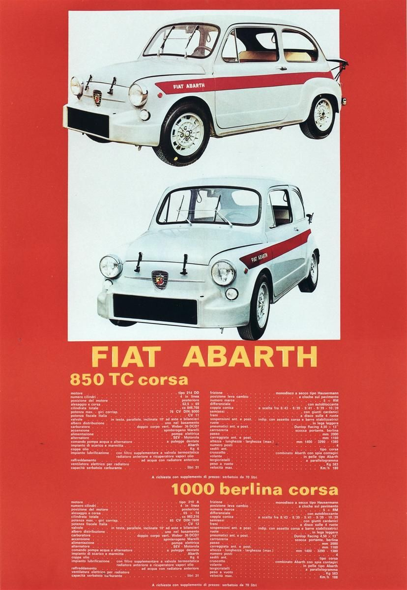 Fiat Abarth Fiat Fiat Abarth Fiat 500 Pop