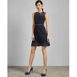 Tunika Mit Spitze In A-linie Ted Baker #shortblackhomecomingdresses