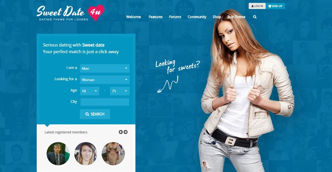 Themeforest-Sweet datum v. 2.6.2-mer än en WordPress dating tema
