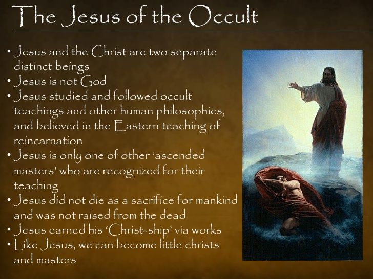 The false Jesus of the Occult.