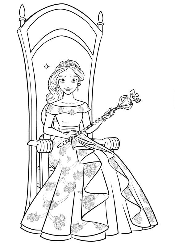Elena Of Avalor Coloring Pages Best Coloring Pages For Kids Princess Coloring Pages Coloring Books Disney Coloring Pages