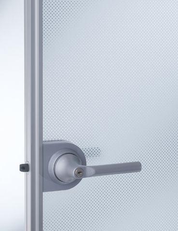 Aluminium swing door model with Madras safeguard privacy glass & Aluminium swing door model with Madras safeguard privacy glass ... pezcame.com