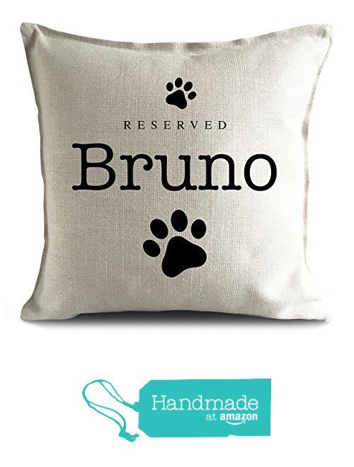 Personalised Dog Breed reserved Pet name strong Cushion