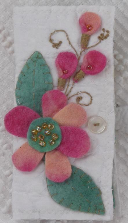 Flower Scissor & Sewing Needle Holder