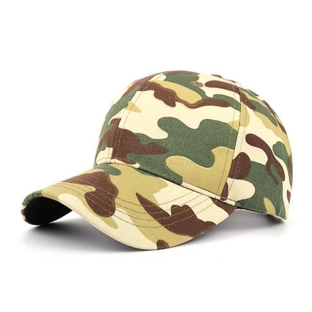 Unisex Camouflage Baseball Cap Swag Cap Casual Outdoor Sport Snapback Hat for Men Cap Women Gorra Casquette