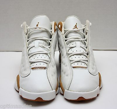71dcea4c32cf 2004 Nike Air Jordan XIII 13 Retro Size 7 - White Wheat - 309260 171
