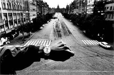 JOSEF KOUDELKA, view to Wenceslas Square, Prague