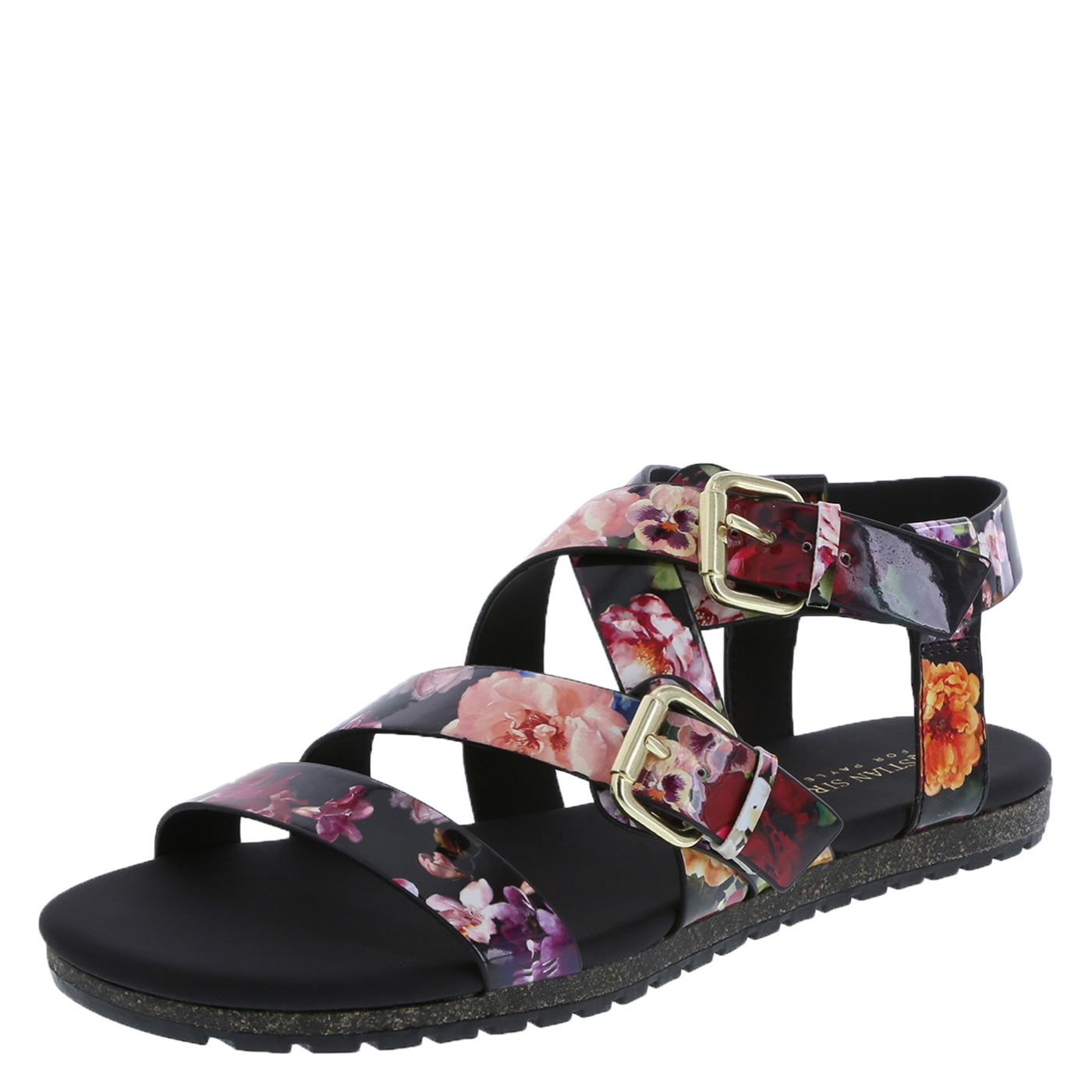 Black sandals at payless