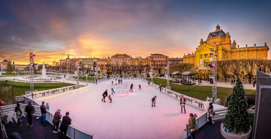 2019 Christmas Markets Advent In Zagreb Guide Chasing The Donkey Zagreb Park Photos Places To See