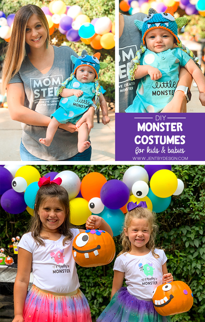 Halloween Monster Costume 2020 Png DIY Monster Costumes for Kids and Babies Using Your Cricut Machine