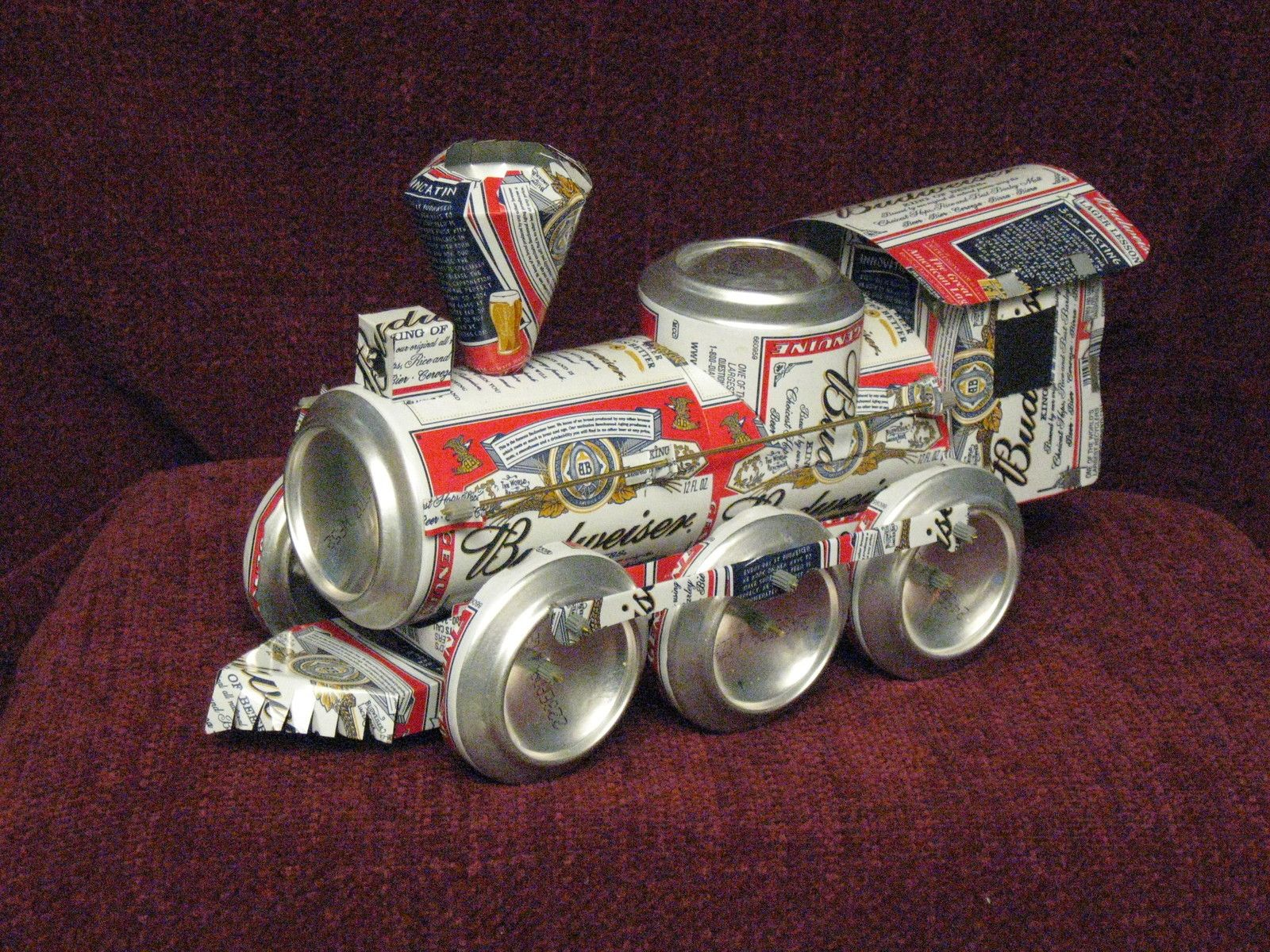 Aluminum can craft train manual download make it yourself for Aluminum can crafts patterns
