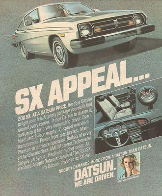 Datsun 200 SX Car