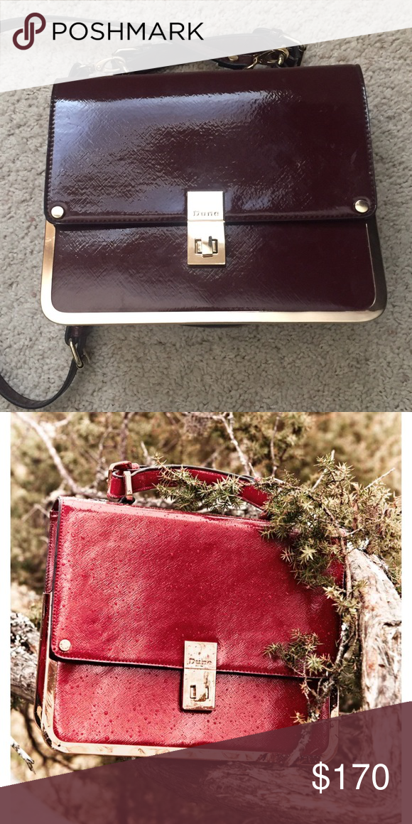 a9d4d3673f10 Bought this purse from ASOS a while back. Very rare. The color appears true  to the picture. Minor scratches on turnlock. dune london Bags
