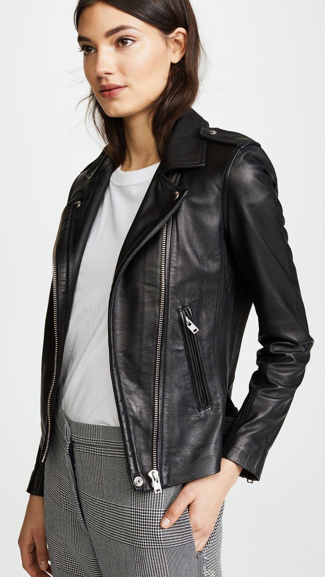 Iro Han Leather Jacket In 2020 Leather Jacket Jackets China Fashion [ 2000 x 1128 Pixel ]