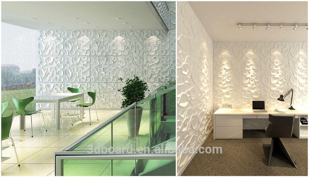 Modern Wall Art Decor Interior 3d Effect Wall Panels For Home Decoration