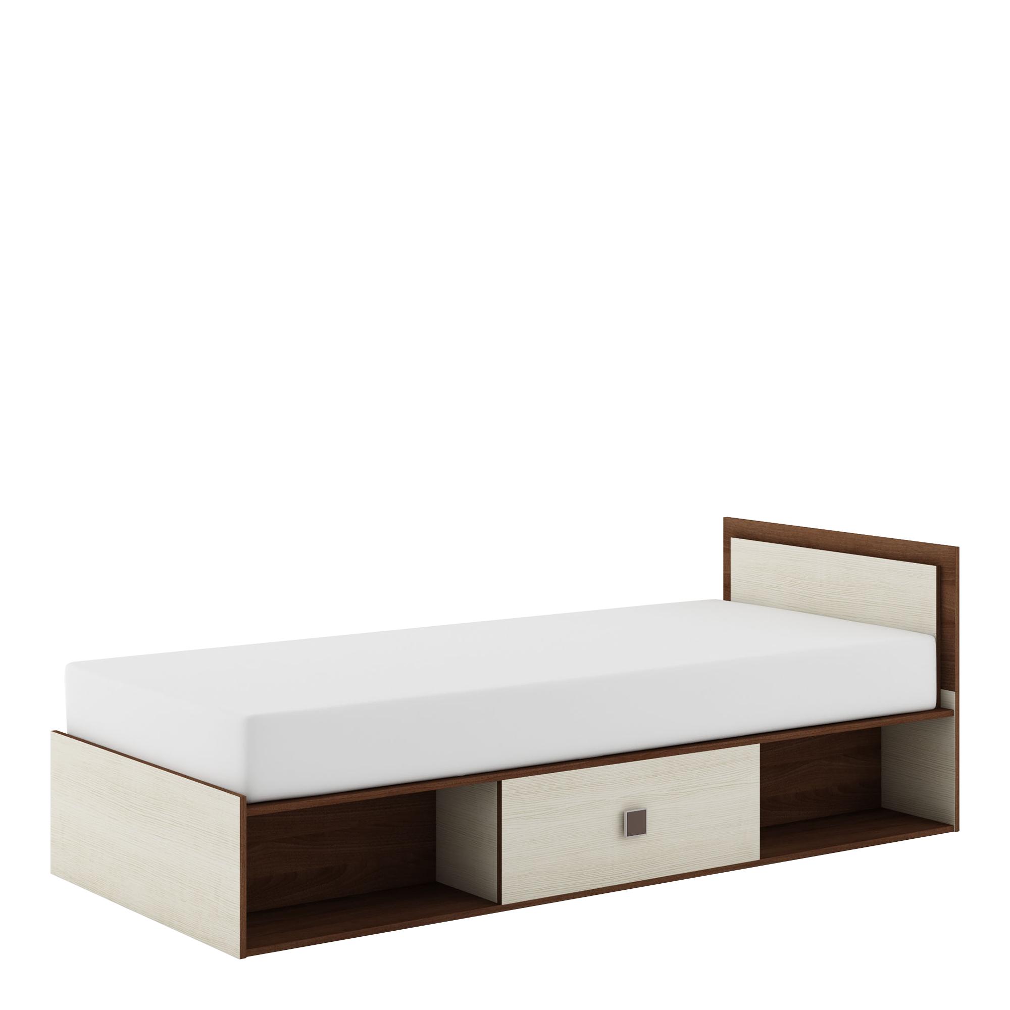 Majka łóżko Mm 16 Orzechkrem łóżka Salon Meblowy Agata