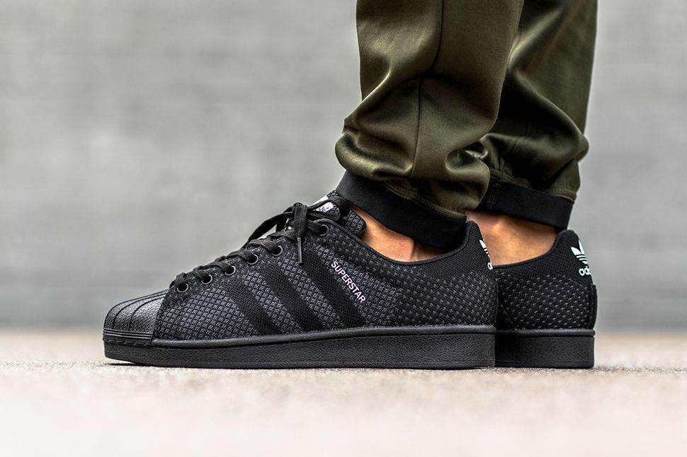 Adidas Superstar Weave Pack Black flagstandards.co.uk