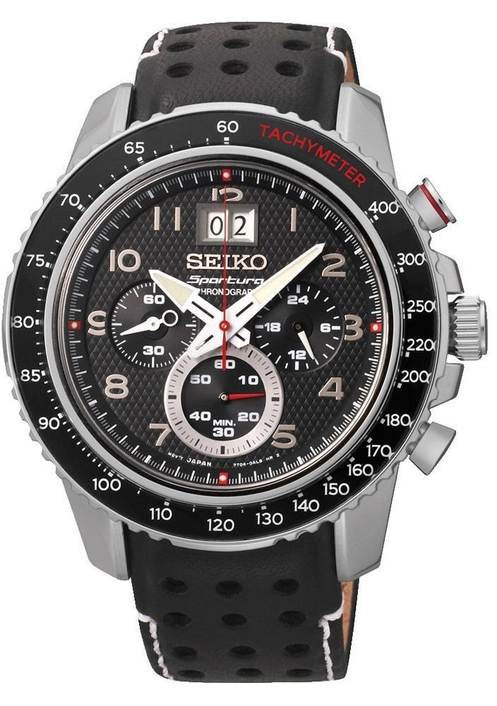 25d8a88d48d1 SEIKO Sportura Mens Watch SPC139P1