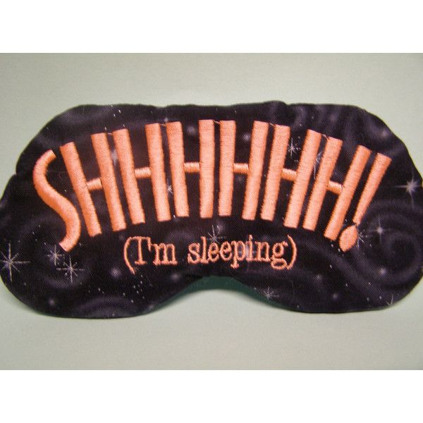 Mr Right and Mrs Always Right - Two Custom Made Embroidered Eye Masks.  $25.00,