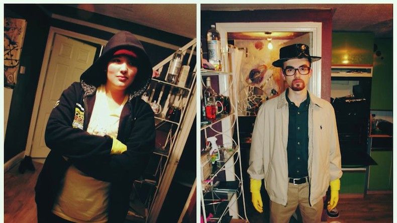 DIY Breaking Bad Halloween Costumes
