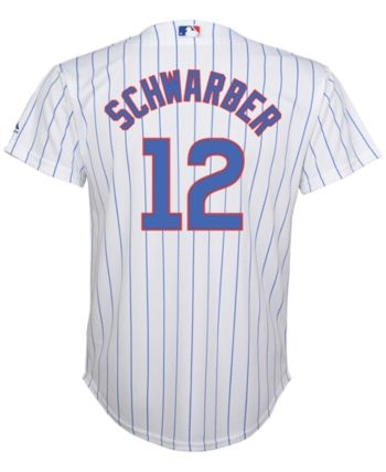 c6cb885f0ae MajesticKyle Schwarber Chicago Cubs Replica Jersey