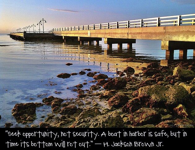 Love this. Saw this quote  graffitied on a wall in Galveston island Texas 6 yes ago.--A