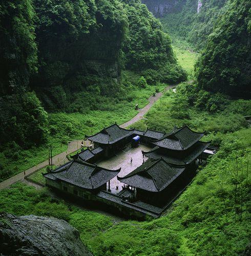 Haus Berge: Ruineshumaines: Big House (by Wangyuanling)