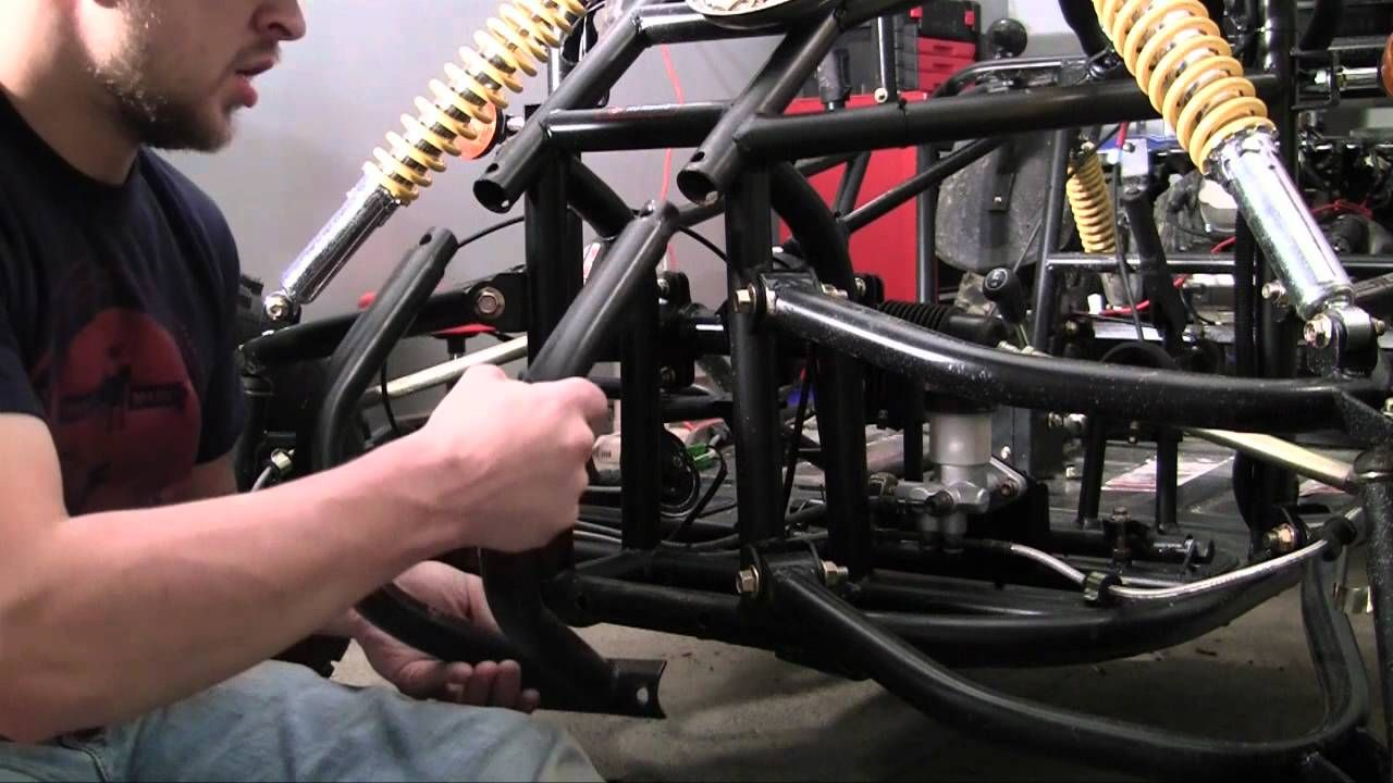 How to Build a Go Kart - 33 - Front Bumper | Off Road. | Pinterest