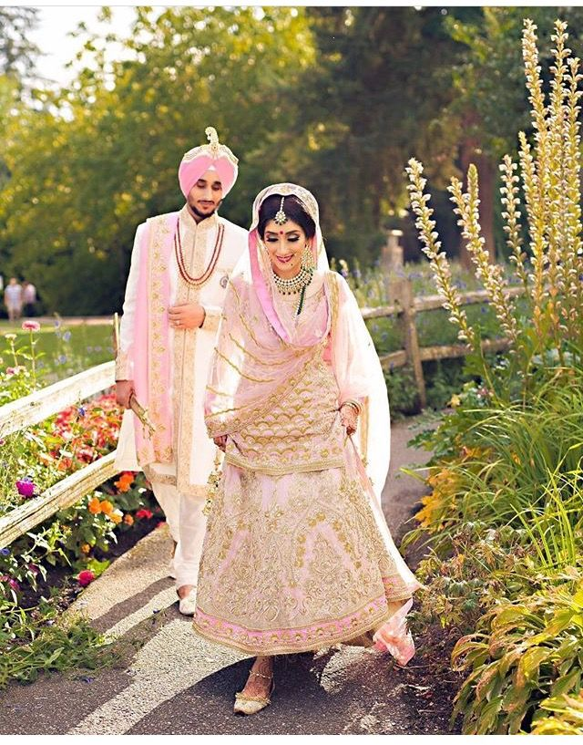 Pin by ma rose on desi weddings pinterest couples and for Punjabi wedding dresses online