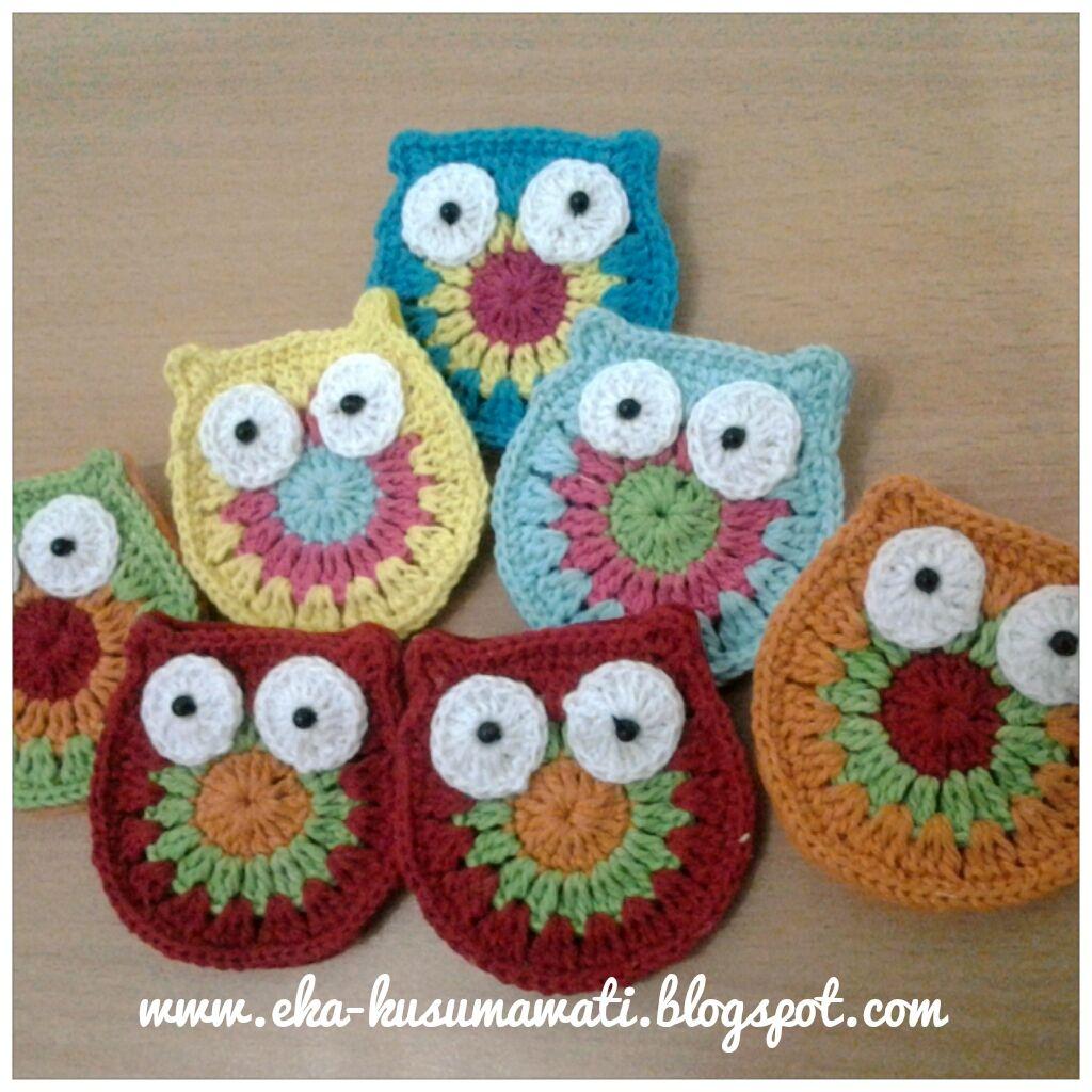 Owl Crafts   Rainbow Craft: Owl Crochet