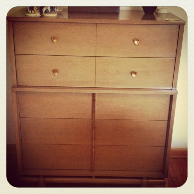 """Upcoming Furniture Sales: Vintage Kent Coffey """"The Sequence"""" Highboy Dresser That"""