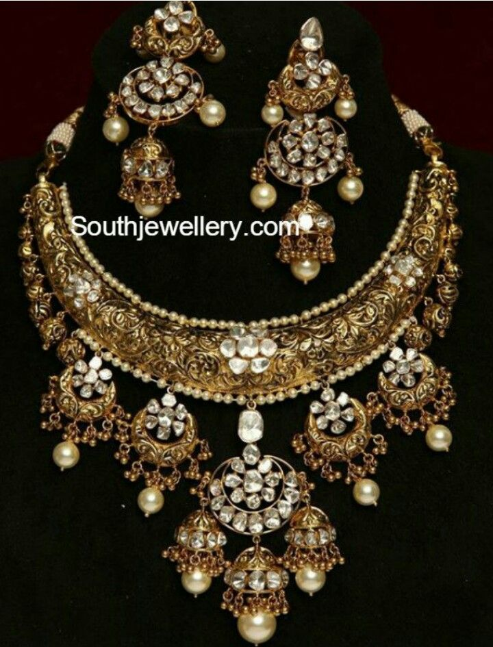 Pin by Rose on traditional jewellery | Pinterest | Indian jewelry ...